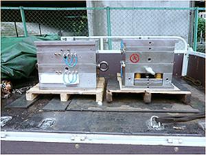 金型・精密機器の輸送手順